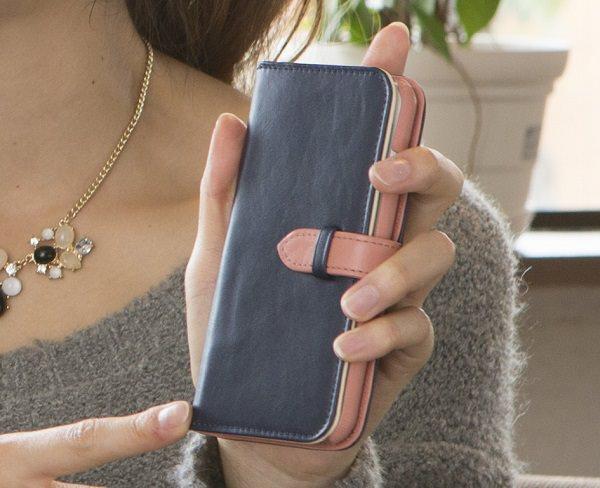 本革手帳型iPhoneケース