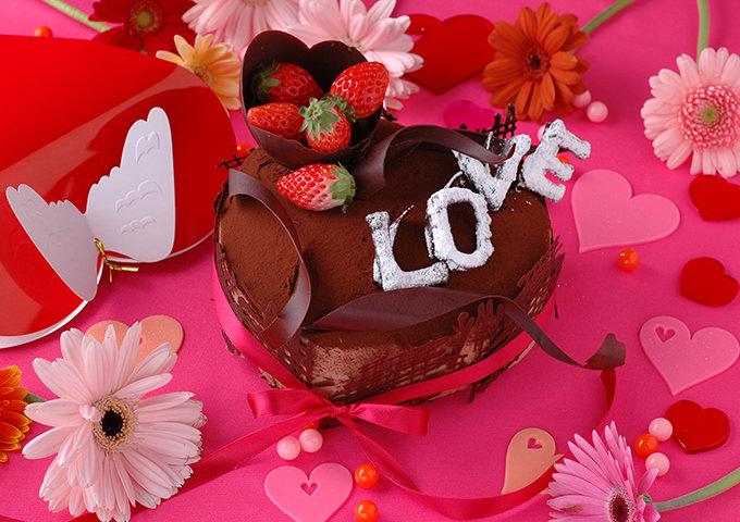 LOVEデコレーションケーキ