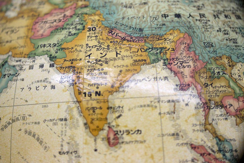 地図-バングラデシュ