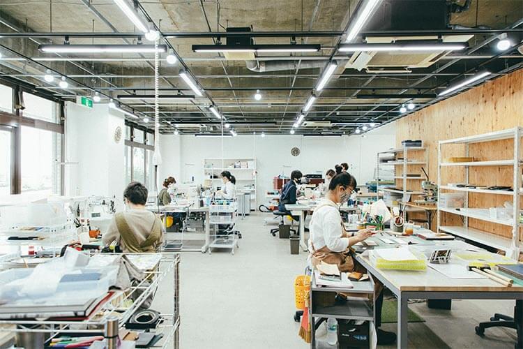 東京都東村山市の直営工場(久米川工場)
