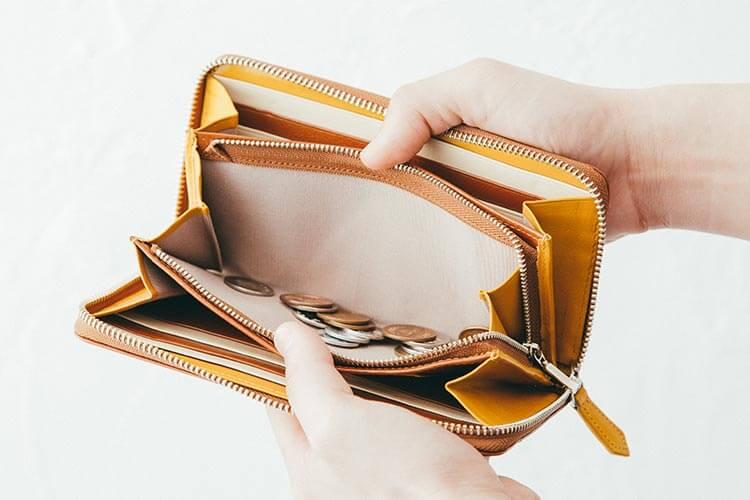 JOGGO シンプルラウンド長財布の小銭入れ