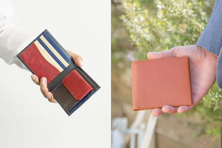 2つ折り財布(小銭入れ付き)