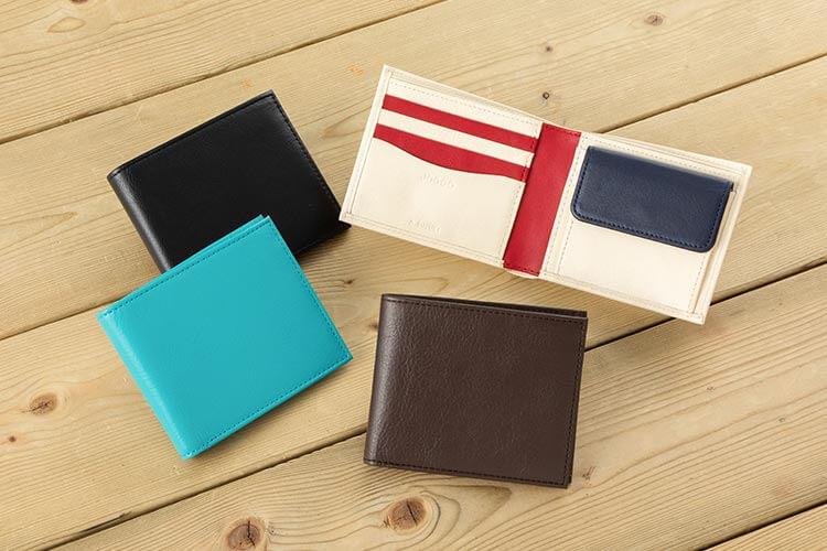2つ折り財布(小銭入れ付き)  ¥15,180-(税込)