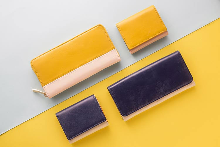 サブ財布としてメイン財布とのカラーリングを楽しむ