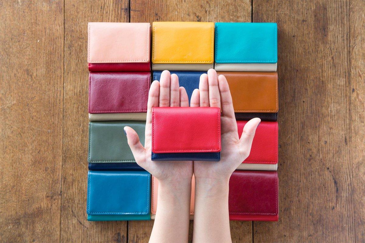 アイキャッチ JOGGOの3つ折りミニ財布