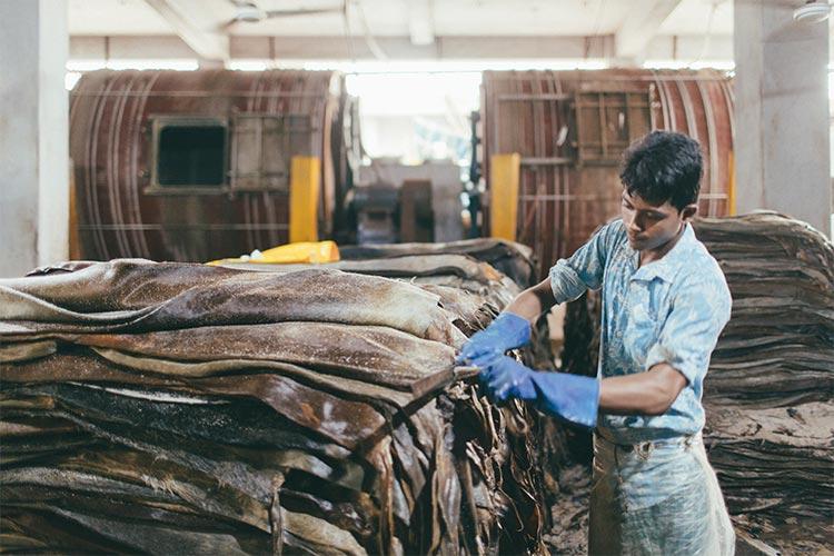 JOGGOで使用している革は犠牛祭で食用にされた牛の皮のみ