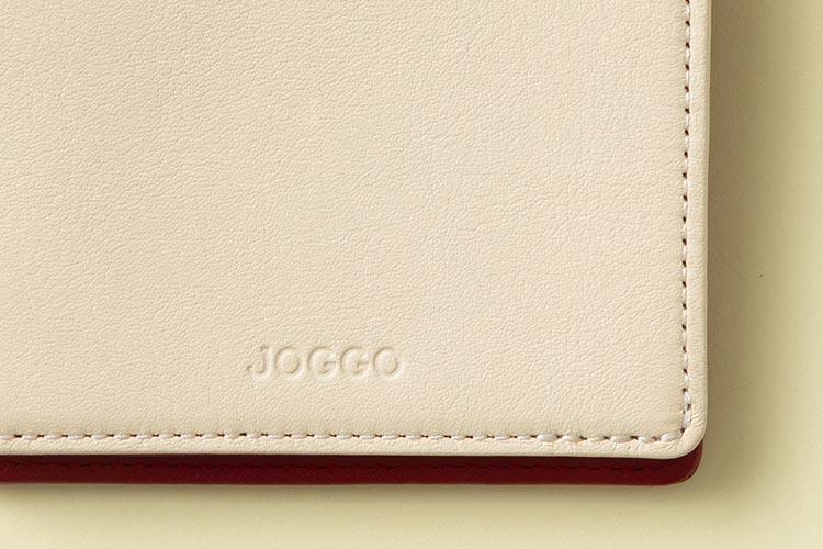 JOGGOのオリジナルレザーディティール